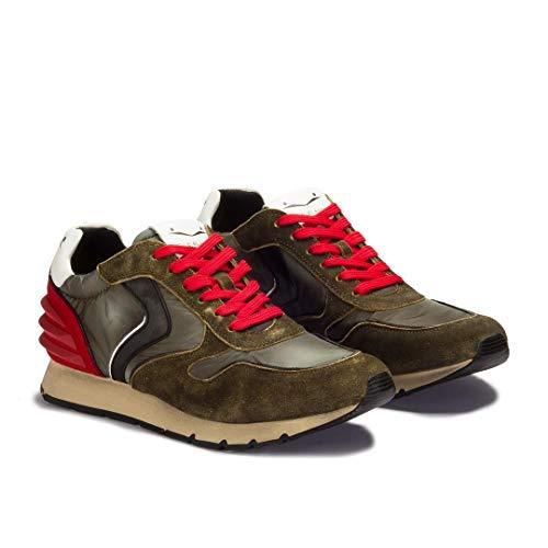 Sneaker Voile Blanche Liam Power Boom Nylon Sfumato Vel 9114 Taglia 43 -  Colore 0963b0f7150