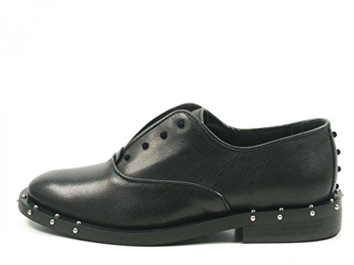 Bronx Bwagonx 65998-A-01 Schuhe Damen Halbschuhe Slipper Schwarz