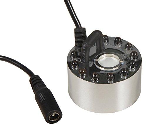 Ultraschall-Nebler/Zerstäuber McShine LED-12 mit 12 LEDs Farbwechsler