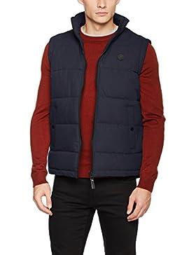 Solid Jacket-Thwang, Chaleco para Exterior para Hombre