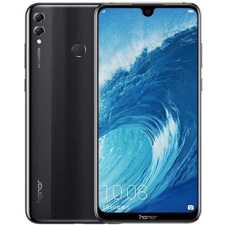 "Huawei Honor 8X MAX 128 GB - Dual SIM [Android 8.1, 7.12"" IPS LCD Dual 16.0MP+2.0MP 5000 mAh] (Negro)"