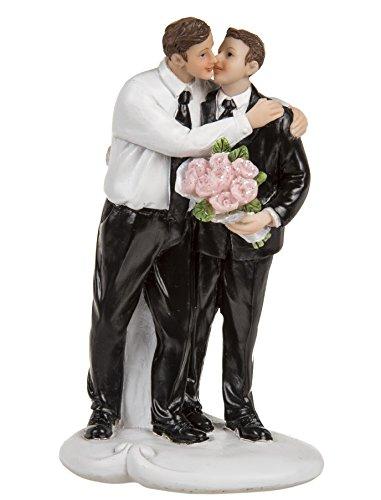 Hochzeitspaar schwul - Figuren lustig - Hochzeitsfigur
