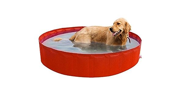 verschiedene Farben 35,5 x 15 x 5,5 cm New Plast My Dog Pool /Ø 180 cm Pool f/ür Hunde