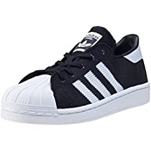 adidas Superstar Sneaker niños, negro/blanco, 1 UK - 33 EU