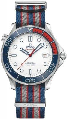 James Bond 007Omega 212.32.41.20.04.001Commanders Automatische Herren-Armbanduhr