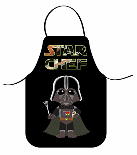 Delantal Infantil STAR CHEF / Delantal DARTH VADER Niños