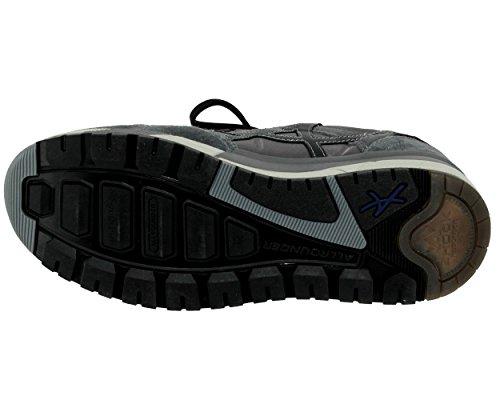 Allrounder by Mephisto Speed C.Suede 52/T.Vintage 52 Zinc/Zinc, Chaussures de Running Compétition Homme Grau (Zinc/Zinc)