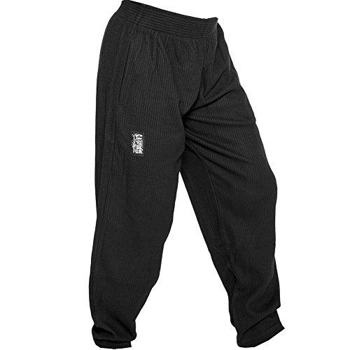 C.P.Sports Herren Traininghose in schwarz S10 Body Pant Bodybuilding Hose Fitness Sweatpants Fitnesshose in schwarz, Jogginghose XL