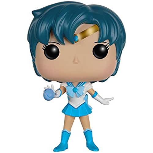 figuras kawaii Funko - Figurine Sailor Moon - Sailor Mercury Pop 10cm - 0849803073015