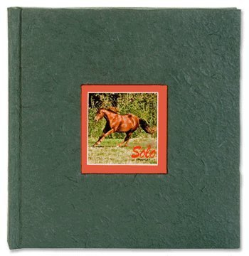 Fotoalbum PFERDEFREUNDE grün als Fotobuch
