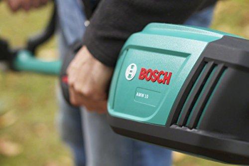 Bosch DIY Antriebseinheit AMW 10, Heckenschneidervorsatz, Schultergurt, Karton (1.000 W, 43 cm Messerlänge, 15 mm Messerabstand) - 3