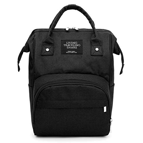 Pingtr - Daypack/Tagesrucksack,Mumienbeutel Windelflaschentasche Große Kapazität Babytasche Reiserucksack Pflegetasche (LxBXH:25x17x37cm)