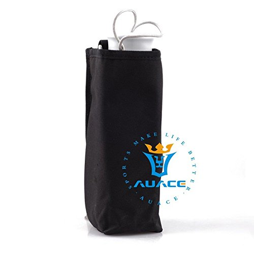 Multifunktions Survival Gear Tactical Beutel MOLLE Beutel Wasserdicht isoliert Wasser Flasche Tasche, Outdoor Camping Tragbare Wärme kalt Wasser Flasche Tasche BK