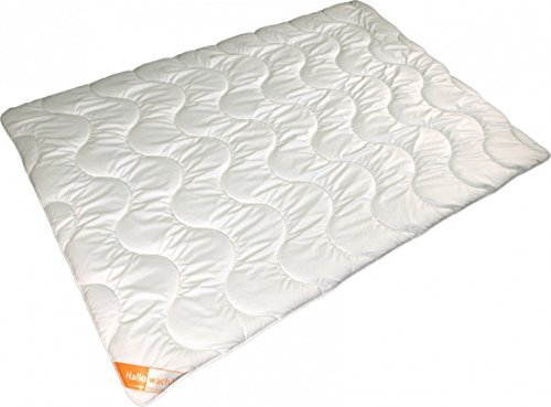 Steppdecke 155 x 200/400+800g - Modicana 4-Jahreszeiten Mikrofaser Bettdecke - Waschbar Trockner Allergiker Geeignet