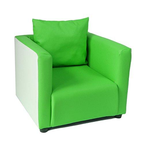 ALUK- small stool Asiento cómodo para niños Sofá Individual Silla Verde Material Color Asiento Moderno y Simple Moderno Asiento de Lectura para niños Regalo de cumpleaños Creativo