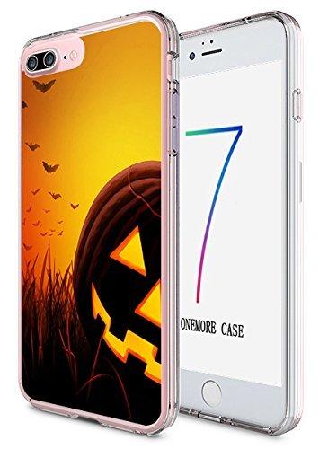 ne 7Plus Hard Cover 14cm Ultra Slim Dünn Happy Halloween, Style-2 ()