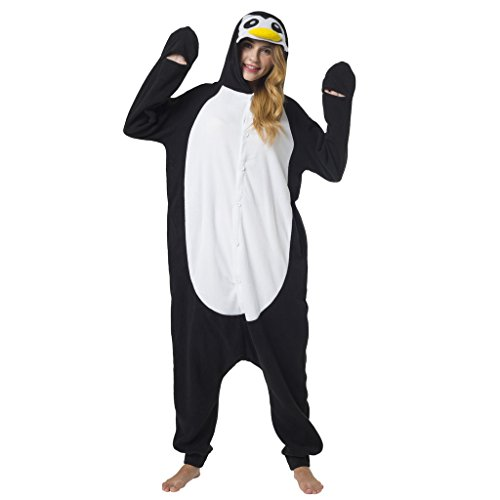 Katara (10+ Modelos) Kigurumi Pijamas Disfraz Animal Halloween Adultos Pingüino Talla 165-175cm
