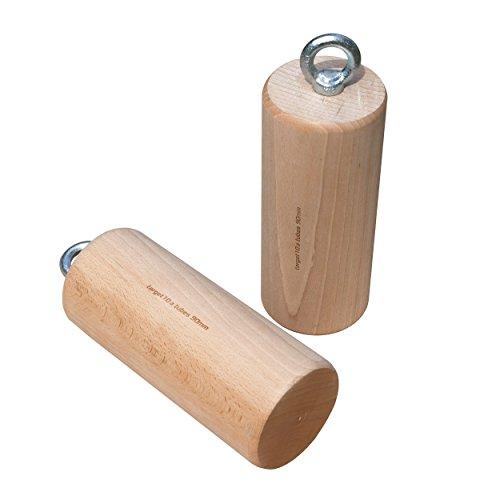 target10a Wood Tubes 90mm - Holzzylinder fürs Klettertraining