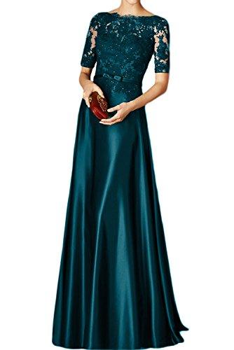 Toscana sposa Rueckenfrei kraftool Chiffon sogno un'ampia per la sera vestiti festa ball vestimento Inkblau