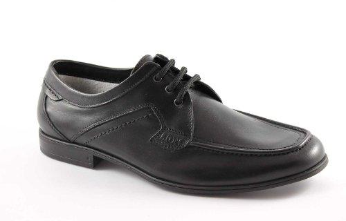 LION 20684 nero scarpe uomo mocassini lacci pelle antistatiche 46