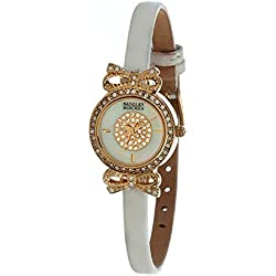 Badgley Mischka Ladies Watch Casual Analog Casual Quartz Watch BA-1128MPWT