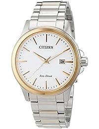 Citizen Herren-Armbanduhr XL Analog Quarz Edelstahl BM7294-51A