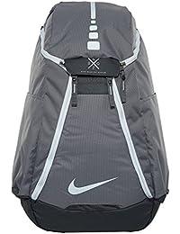 0489f64859c Nike Hoops Elite Max Air Team 2.0 Basketball Backpack Charcoal Dark  Grey White,