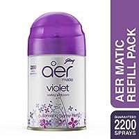 Godrej Aer Matic Refill - 225 ml (Violet Valley Bloom)