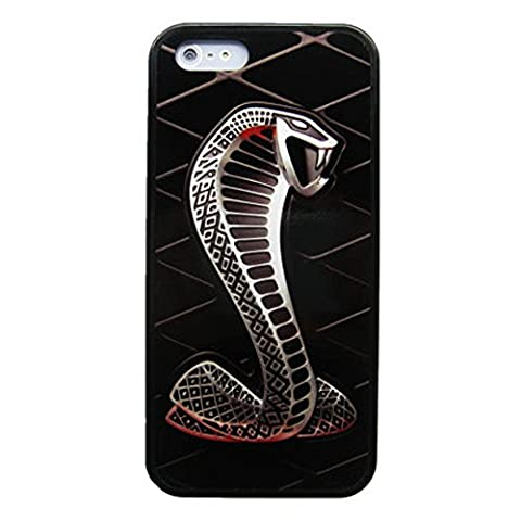 New Ford Shelby Cobra Gt 500 Mustang Emblem iPhone Case and Samsung Case (iPhone 6s (Mustang Cobra Emblem)