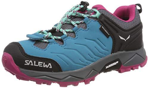 SALEWA JR MTN Trainer WP, Stivali da Escursionismo Bambino, Blu (Malta/Vivacious 8736), 33 EU