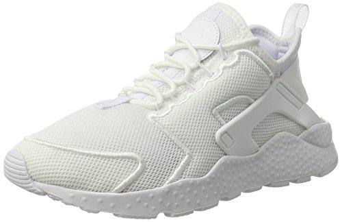 Nike Damen Wmns Air Huarache Run Ultra Br Trainer, Kastanie Elfenbein (White/white/glacier Blue)