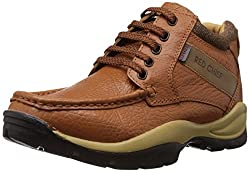Redchief Mens Elephant Tan Leather Boots - 6 UK (RC2051 107)