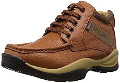 Red Chief Men's Brown Leather Trekking and Hiking Footwear (RC2051 - 10 UK)
