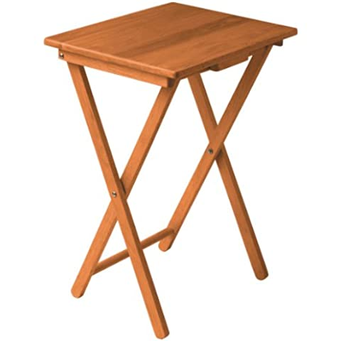 Premier Housewares - Mesa auxiliar (madera de pino antiguo, 66 x 48 x 37 cm)