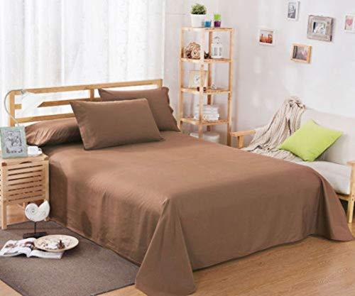 NIKIMI Plain Deep Bed Spannbetttuchbezug Floral Bedruckte Soft Twin Full Queen King Kissenbezug Cover -