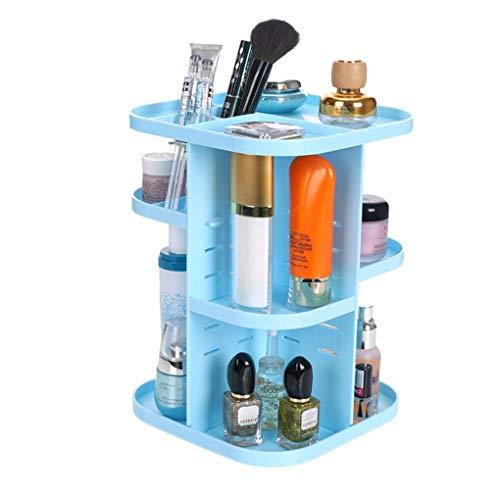 Rekkles Rotierende Cosmetic Storage Rack Makeup Lagerung Regal Desktop-Sundries Organizer PC Haushaltswaren ()