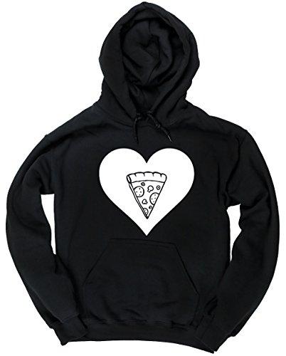 hippowarehouse-corazon-pizza-jersey-sudadera-con-capucha-sueter-derportiva-unisex
