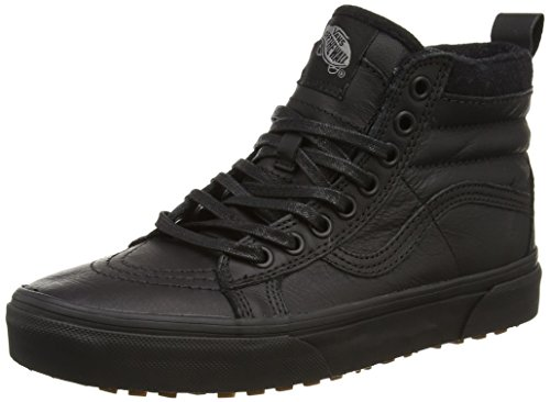 Vans U Sk8, Salut-Baskets mixte adulte Noir (Black/Leather)