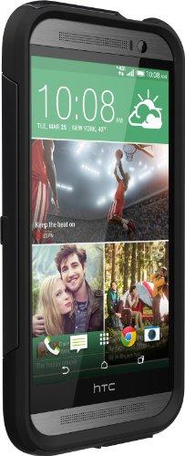OtterBox Commuter Series Schutzhülle für HTC One M8 schwarz (Htc One M8-iphone Fall)