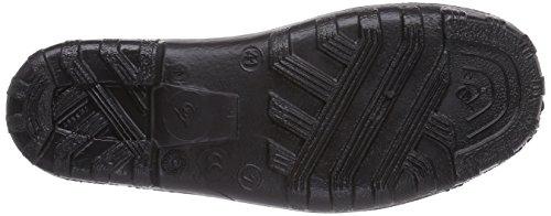 Dunlop - 814P PLASTIC KLOMP ZWART    44, Zoccoli, unisex Negro (Negro(Zwart) 00)