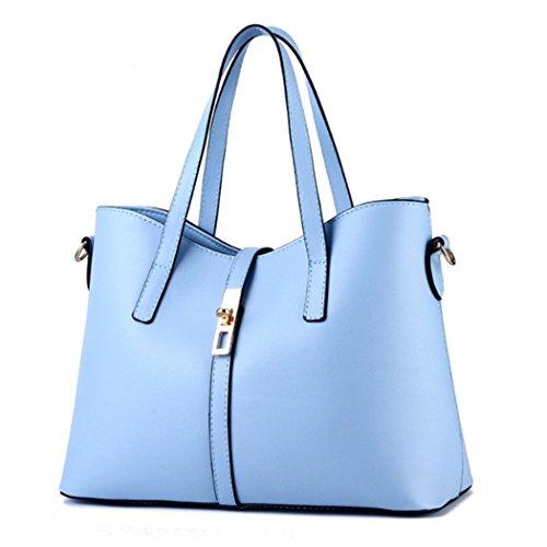 Sacchetto di trasduttore auricolare di Hobo del messaggero delle nuove borse della borsa del sacchetto di spalla della borsa Azzurro