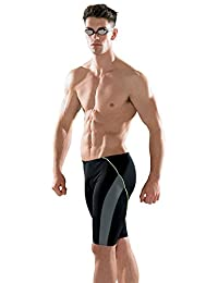 Maru Ace Pacer Mens Swim Jammers - Black