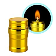 rivalités (TM) portable Mini 10ml Brûleur à alcool Lampe Coque en aluminium Lab Equipment Chauffage New