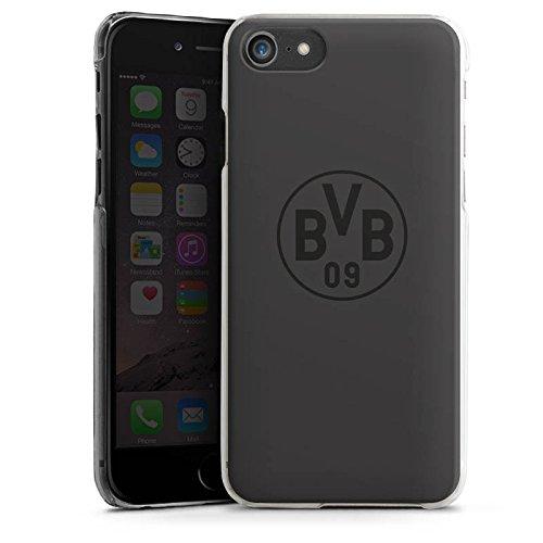 Apple iPhone 6 Hülle Case Handyhülle Borussia Dortmund BVB Logo grau Hard Case transparent