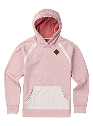Burton Mädchen Heron Hoodie Dusty Rose Heather, L -
