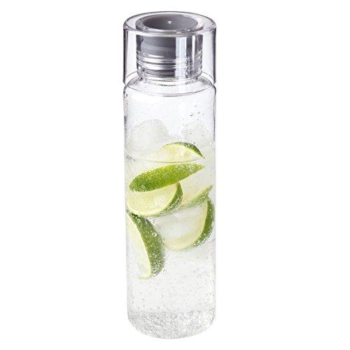 """elastofit Trinkflasche """"Acqua"""" 580ml Wasserflasche Auslaufsicher Sportflasche BPA-Frei Perfekte Trinkflasche für Unterwegs, Schule, Sport, Arbeit"""