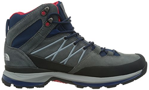 North Face Wreck Mid GTX Zinc Grey / Cosmic Blue - hommes Gris