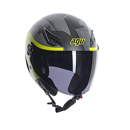 AGV 0041A2A0_014 Motorradhelm Blade E2205 Multi, gelb (camodaz), XL