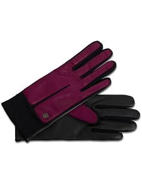 Modischer sportiver Handschuh für Damen mit Touch-Funktion in pink