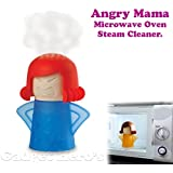 Gadget Hero's Angry Mama Microwave Oven Steam Cleaner. Easily Cleans the Crud in Minutes. Assorted Colors.